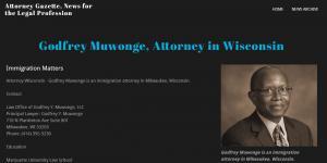 News about Lawyer Godfrey Muwonge Wisconsin