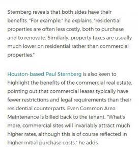 Paul Sternberg Houston