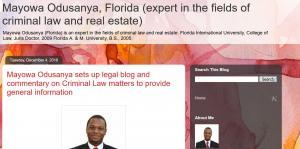 MO Blog of Mayowa Odusanya Florida