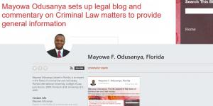 News about Mayowa Odusanya in Florida