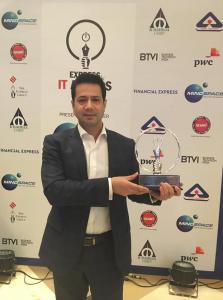 Express IT's Cloud Solutions Runner Up Award