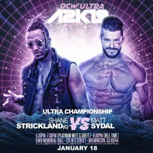 "Matt Sydal vs. Shane ""Swerve"" Strickland (C)"