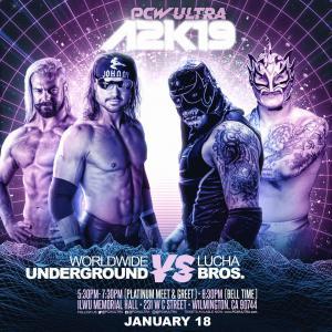 Worldwide Underground (PJ Black/John Hennigan) vs. Lucha Bros. (Fenix/PENTA EL ZERO M)