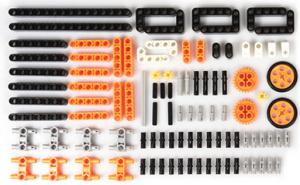 100 pieces of electronic building blocks compatible with Itty Bitty Buggy