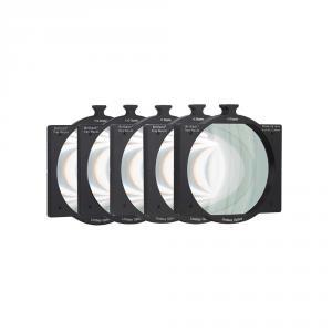 The Lindsey Optics 5 Piece Tray Mount Close-Up Lens Set