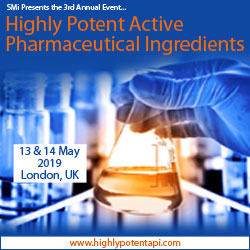 Highly Potent Active Pharmaceutical Ingredients Conference 2019