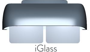 iGlass, the 30-feet 4K quality AR Glasses On-The-Go, with total privacy protection