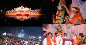 Sri Swamiji conducts inclusive prayers for World Peace and natural balance