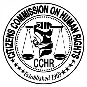 CCHR Logo Black