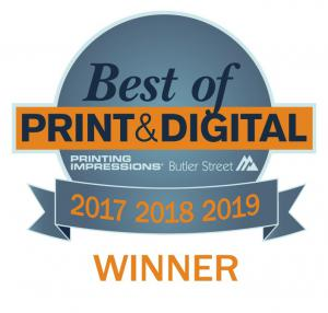 Superior Business Solutions wins third consecutive Best of Print & Digital Award