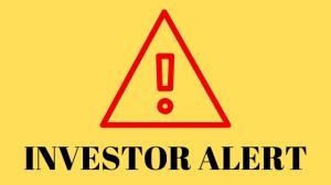 Investor Alert