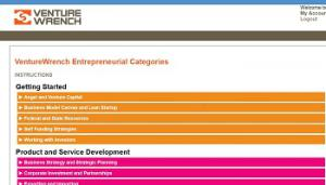 VentureWrench Startup Tools For Entrepreneurs