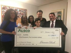 Alsco Miami Branch Helps Local Children