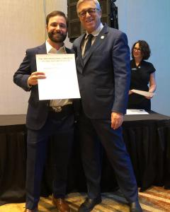 Dr. Ben Kacos Receives Dental Implant Fellowship