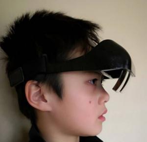 XGlass is 130g lightweight, even little kids can wear it long period of time