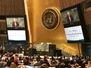 United Nations Secretary-General, H.E. Mr. António Guterres, speaking at the 2019 UNA-USA Global Engagement Summit