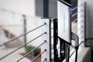 SemaConnect smart EV charging station wall mount