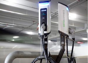 SemaConnect smart electric vehicle charging stations