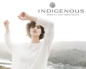 INDIGENOUS organic + fair trade fashion