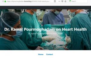 Blog of Dr Kamal Pourmoghadam