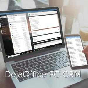 DejaOffice Personal CRM for PC and Mobile