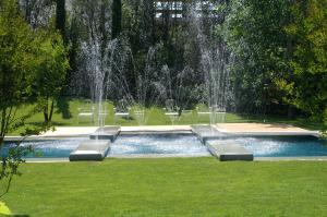 Villa F Venice Italy Gardens and Pool