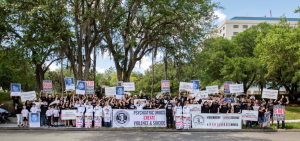 Florida Psychiatric Society Protest