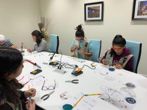 Girl Scouts at CCV Center