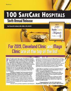 2019 100 SafeCare Hospitals