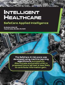 SafeCare Applied Intelligence SafeCare Mag