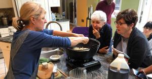 Susan Waxman Cooking Lesson