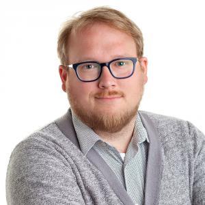 Dustin Zick, social media manager at Bader Rutter