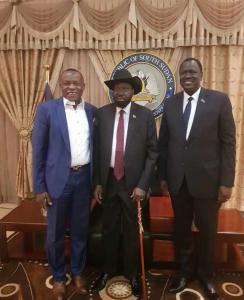 Sahara Energy, South Sudan Partnership