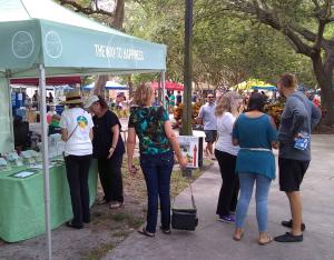 Earth Day Celebration at TWTH tent