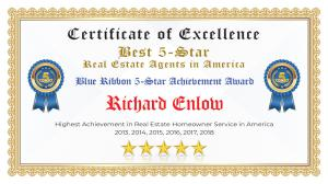 Richard Enlow Certificate of Excellence Dallas TX
