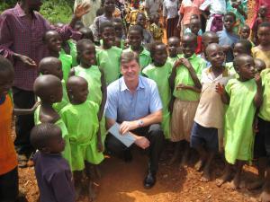 Nick in Uganda