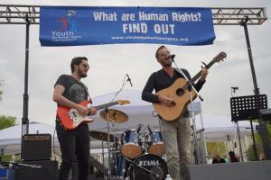 Rock for Human Rights, Wil Seabrook performing