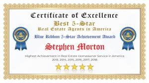 Stephen Morton Certificate of Excellence Whitehouse TX