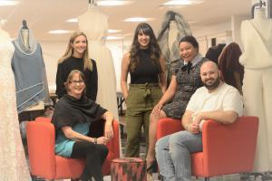 A photo of the Chicago Fashion Incubator designers