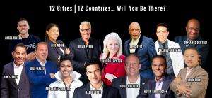 Confirmed speakers are Mario Lopez, David Meltzer, Kevin Harrington and more.