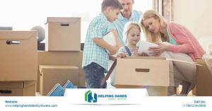 Helping Hands Family Movers, is well equipped to  handle any kind of move in Edmonton and all over Alberta
