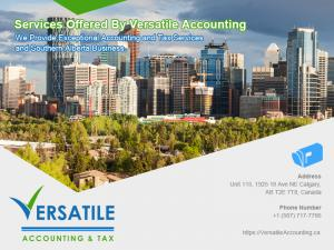 Versatile Accounting Professional Corporation is committed to exceptional client service delivered through long-term, responsive relationships.