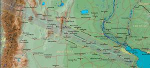 Camino de totalidad en Argentina y Chile