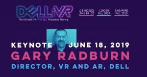 Gary Radburn DELLiVR Keynote Speaker