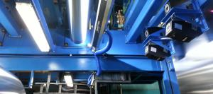 Smartview system fitted in Hulamin aluminium mill, South Africa