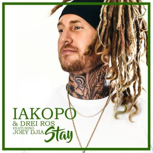 "Cover art for the New Single entitled ""STAY"" by Iakopo and Drei Ros Featuring Joey Djia"