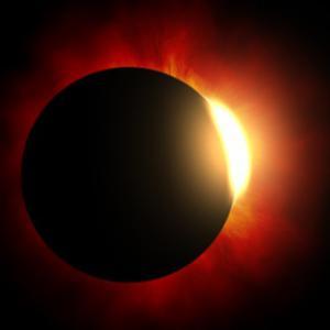 Cuentas de Baily-Eclipse solar