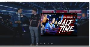 eSports team 3DMAX video on their homepage with Verasity Technology