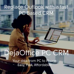 DejaOffice Outlook CRM Add-In