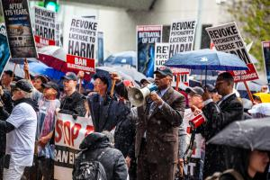 CCHR spokesperson for the march, Rev. Frederick Shaw said the protest was needed given the fact that pregnant women, children and the elderly are being electroshocked.